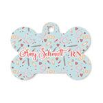 Nurse Bone Shaped Dog Tag (Personalized)