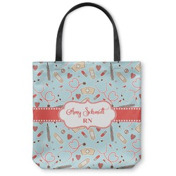 Nurse Canvas Tote Bag (Personalized)
