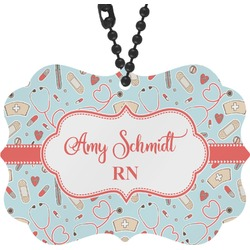 Nurse Rear View Mirror Decor (Personalized)