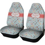 Nurse Car Seat Covers (Set of Two) (Personalized)