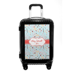 Nurse Carry On Hard Shell Suitcase (Personalized)