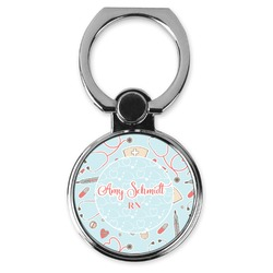 Nurse Cell Phone Ring Stand & Holder (Personalized)