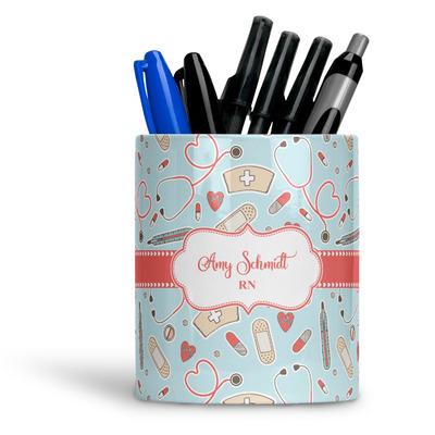 Nurse Ceramic Pen Holder