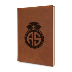 Nurse Leatherette Journal (Personalized)