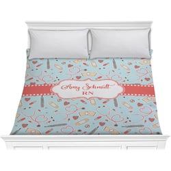 Nurse Comforter - King (Personalized)
