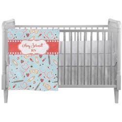 Nurse Crib Comforter / Quilt (Personalized)