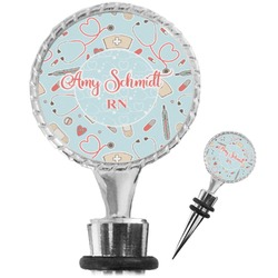 Nurse Wine Bottle Stopper (Personalized)