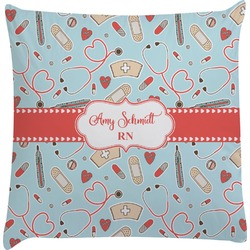 Nurse Decorative Pillow Case (Personalized)