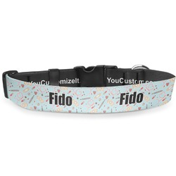 Nurse Deluxe Dog Collar (Personalized)