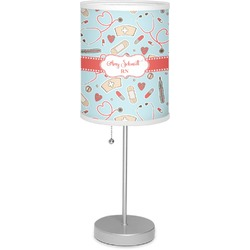"""Nurse 7"""" Drum Lamp with Shade (Personalized)"""