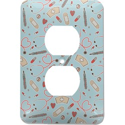Nurse Electric Outlet Plate (Personalized)