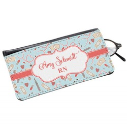 Nurse Genuine Leather Eyeglass Case (Personalized)