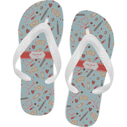 Nurse Flip Flops (Personalized)