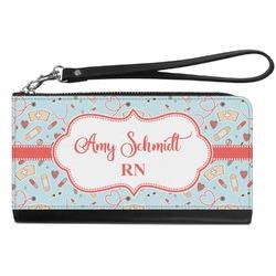 Nurse Genuine Leather Smartphone Wrist Wallet (Personalized)
