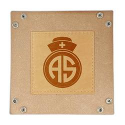 Nurse Genuine Leather Valet Tray (Personalized)