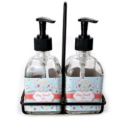 Nurse Glass Soap & Lotion Bottles (Personalized)