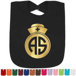 Nurse Foil Toddler Bibs (Select Foil Color) (Personalized)