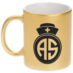 Nurse Gold Mug