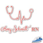 Nurse Graphic Iron On Transfer (Personalized)