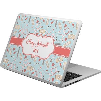 Nurse Laptop Skin - Custom Sized (Personalized)