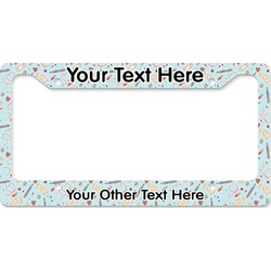 Nurse License Plate Frame - Style B (Personalized)