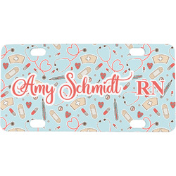 Nurse Mini / Bicycle License Plate (Personalized)