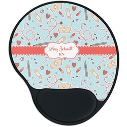 Nurse Mouse Pad with Wrist Support