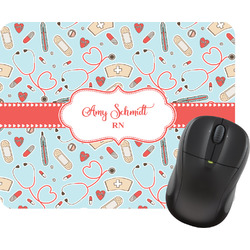 Nurse Rectangular Mouse Pad (Personalized)