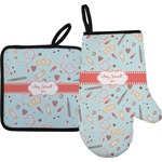 Nurse Oven Mitt & Pot Holder (Personalized)