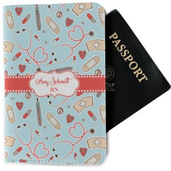 Nurse Passport Holder - Fabric (Personalized)