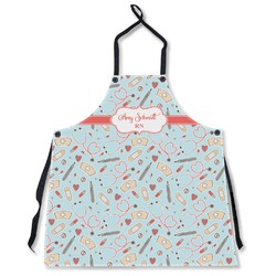 Nurse Apron Without Pockets w/ Name or Text
