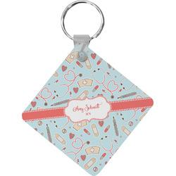 Nurse Diamond Key Chain (Personalized)