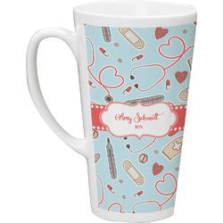 Nurse 16 Oz Latte Mug (Personalized)