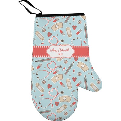 Nurse Oven Mitt (Personalized)
