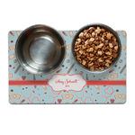 Nurse Dog Food Mat (Personalized)