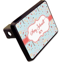 "Nurse Rectangular Trailer Hitch Cover - 2"" (Personalized)"
