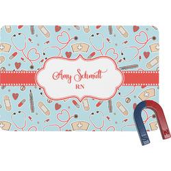 Nurse Rectangular Fridge Magnet (Personalized)