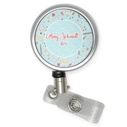 Nurse Retractable Badge Reel (Personalized)