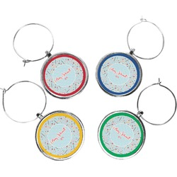 Nurse Wine Charms (Set of 4) (Personalized)