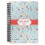 Nurse Spiral Bound Notebook (Personalized)