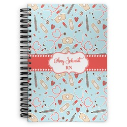 Nurse Spiral Bound Notebook (Personalized)