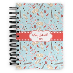 Nurse Spiral Bound Notebook - 5x7 (Personalized)