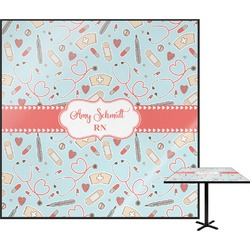 "Nurse Square Table Top - 30"" (Personalized)"