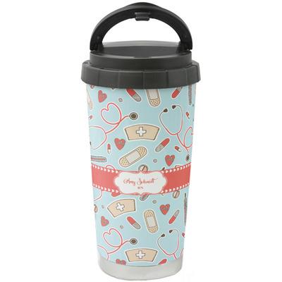 Nurse Stainless Steel Travel Mug (Personalized)