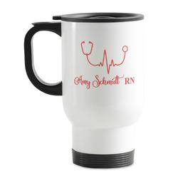 Nurse Stainless Steel Travel Mug with Handle