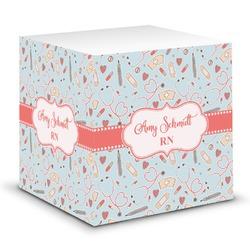 Nurse Sticky Note Cube (Personalized)
