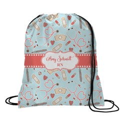 Nurse Drawstring Backpack (Personalized)