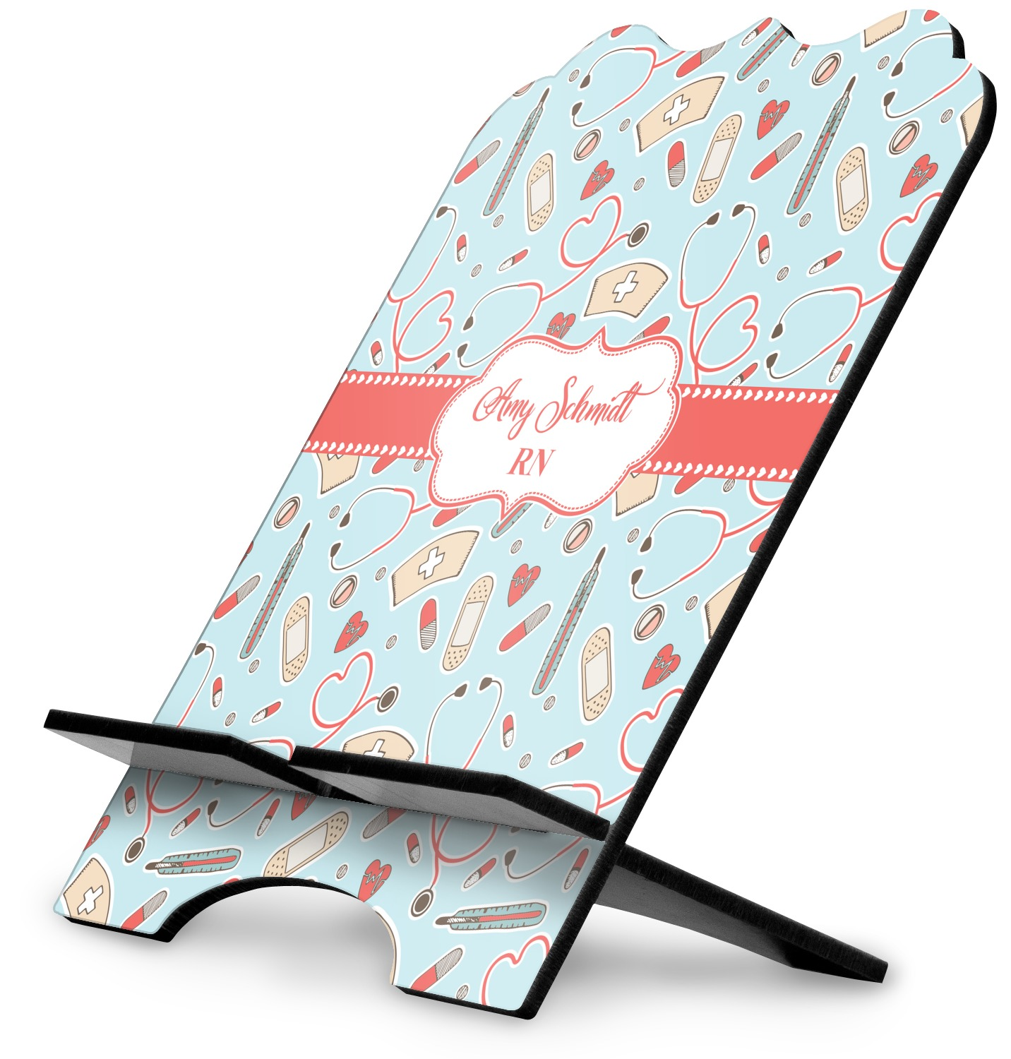 Nurse Stylized Tablet Stand (Personalized) - YouCustomizeIt