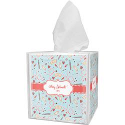 Nurse Tissue Box Cover (Personalized)