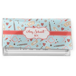 Nurse Vinyl Checkbook Cover (Personalized)